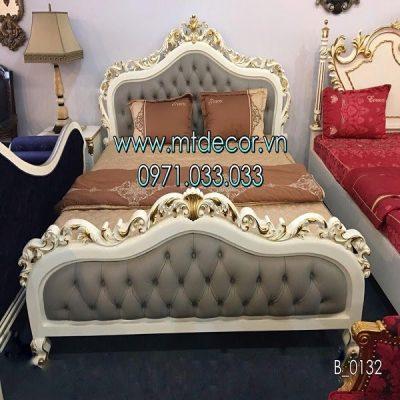 bộ giường ngủ tân cổ điển